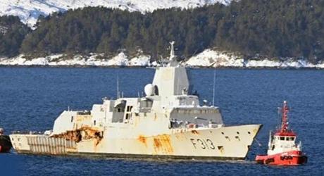 彻底报废!造价5亿美元的北欧最强神盾舰,花6千万拆成废铁!